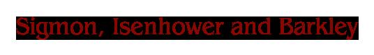 Sigmon, Isenhower and Barkley logo